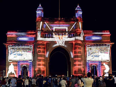 Mumbai preps up to host first-ever NBA India games