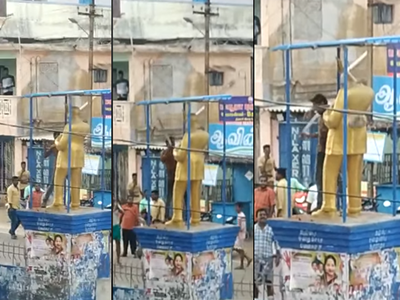 Fake alert: Muslims in Wayanad did not vandalise BR Ambedkar statue