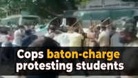 Bengaluru: Police resort to lathicharge after protesting students staged march towards Vidhana Soudha