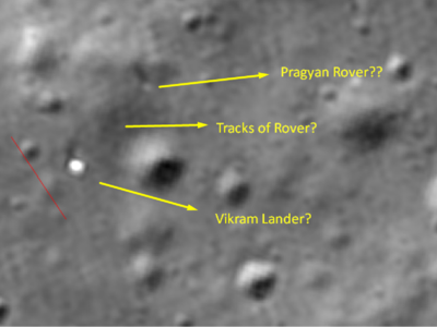 Chandrayaan-2 rover intact? ISRO checking space enthusiast's claim of moon rover rolling on lunar surface