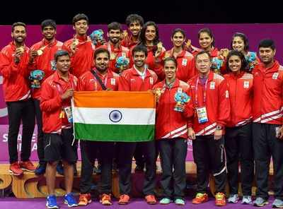 Commonwealth Games 2018: India defeat Malaysia to claim badminton team gold