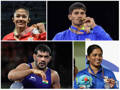 Commonwealth Games 2018: Maharashtra wrestler Rahul Aware, Sushil Kumar win gold; shooter Tejaswini Sawant, Babita Kumari settle for silver