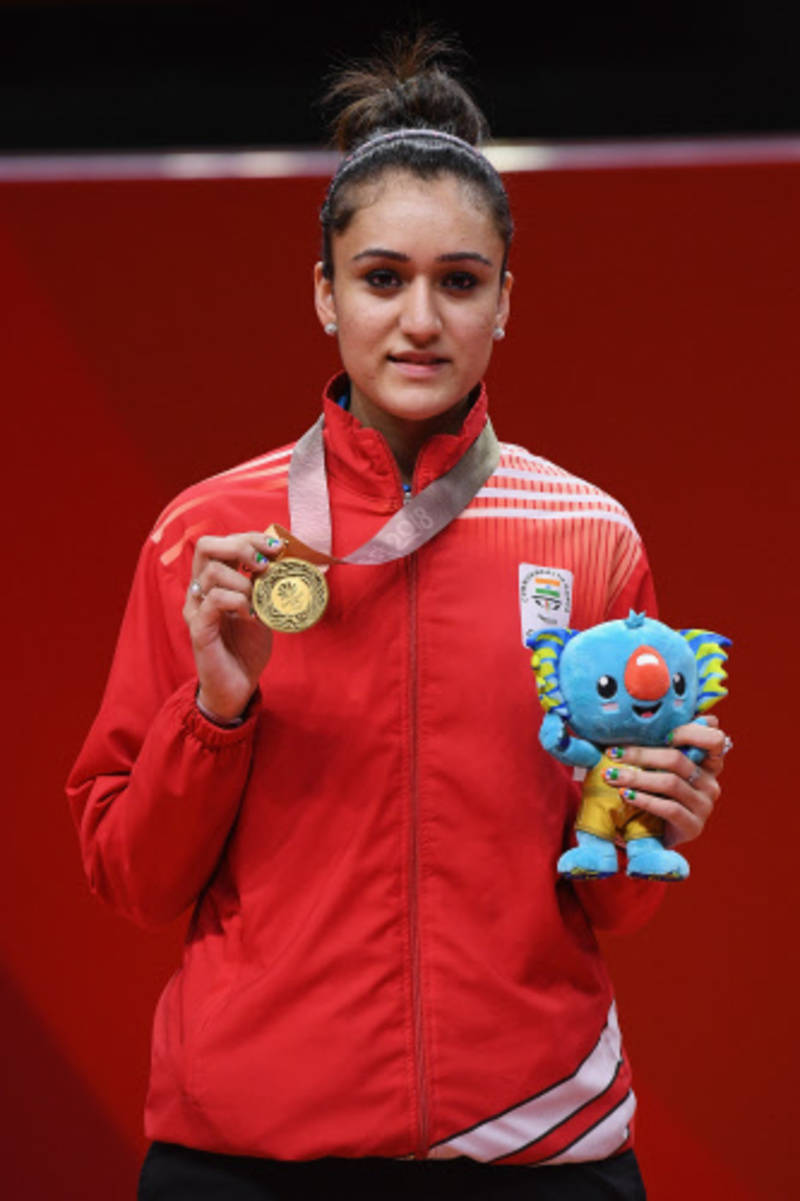 Commonwealth Games 2018: Manika Batra claims mixed doubles bronze in table tennis
