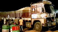 5 trucks used for illegal transport of sand, seized in Andhra's Srikakulam