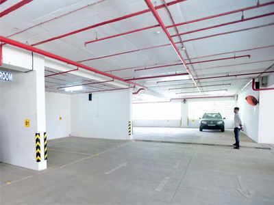 Only four of the 18 public parking lots that have been handed over to the BMC are functional with occupancy as low as 5%