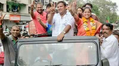 BJP's Jagruti Patil wins Bhandup BMC bypoll, BJP tally now 82, narrows gap with Shiv Sena