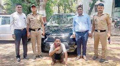 Pune police nab car thief in 40 minutes