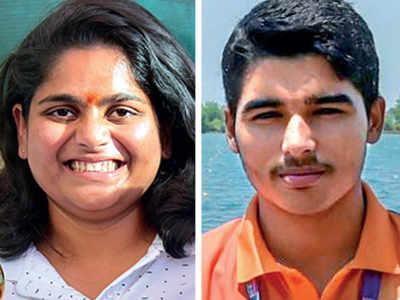 Saurabh Chaudhary, Rahi Sarnobat bring home goldx