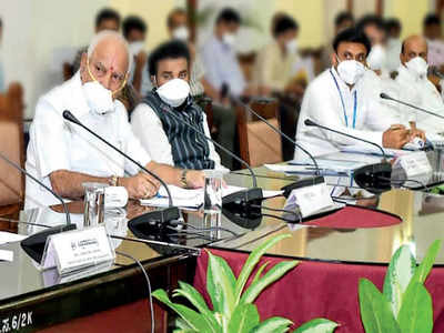 Chief Minister BS Yediyurappa disbands Covid-19 task force