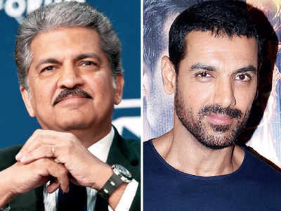 When John Abraham inspired automobile entrepreneur Anand Mahindra