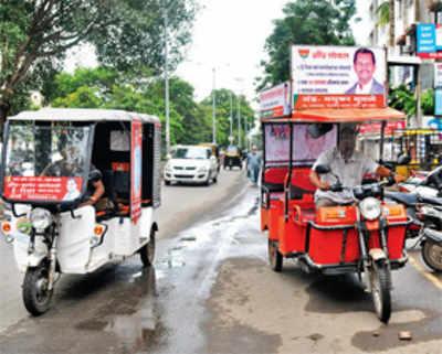 Electric autorickshaws to soon hit outskirts of city