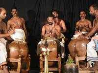 Sounds of Kerala: Thiruvananthapuram's Museum Hall reverberates with the beats of 'Mizhavu'