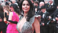 Watch: Mallika Sherawat's plunging neckline gown 72nd Cannes Film Festival 2019