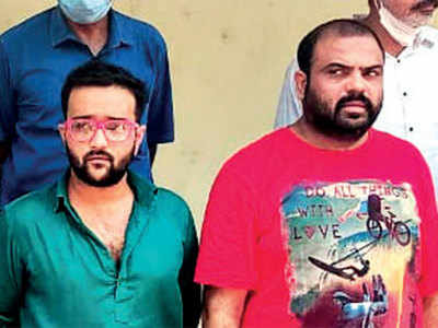 Cop among five held with Rs 1-cr of drug