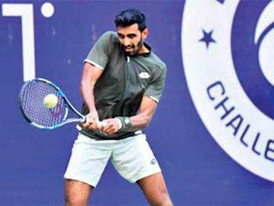 Top-seed Prajnesh Gunneswaran crashes out of MSLTA KPIT Challenger