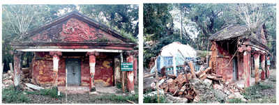 What you see when you see: Bulldozing history, one hall at a time