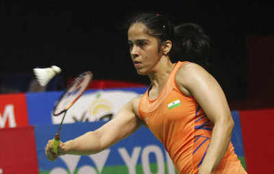 Saina claims Indonesia Masters after injured Marin limps out of final