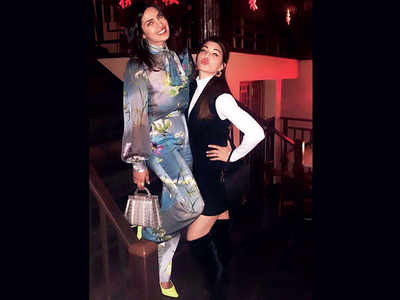 It's work, play, party for Jacqueline Fernandez