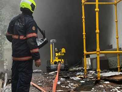 MTNL building fire: Fire-fighting robot failed to deliver?