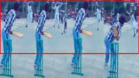 This gully cricketer has become an internet sensation with his unique, funny bowling action