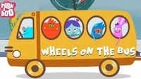 Popular Children English Nursery Rhyme 'Wheels On The Bus | Peekaboo' - Kids Nursery Rhymes In English