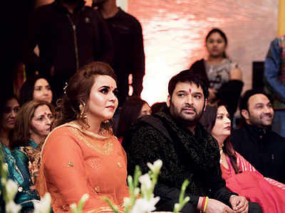 Kapil Sharma-Ginni Chatrath get married in a handsome  ceremony