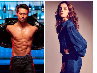Alia Bhatt, Tiger Shroff shoot for 'hook-up' song in Student of the Year 2