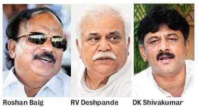 Centre doesn't want Namma ministers to go abroad
