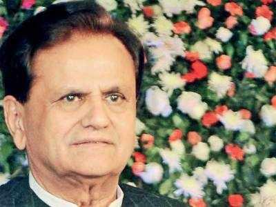 Ahmed Patel: 'Am nearly 70. My memory's weak'