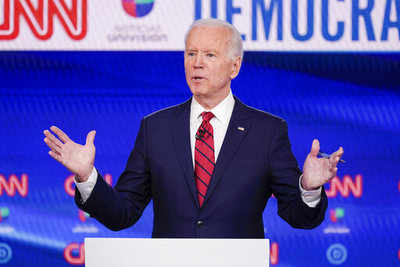 Biden vastly outspent by Sanders