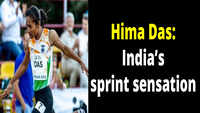 Hima Das: The golden run of India's sprint sensation