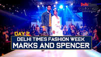 Marks and Spencer's showcased it's collection on Day 2 of the Delhi Times Fashion Week