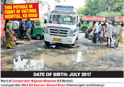 Bengaluru: Upgrade your driving skills since potholes have a licence to kill