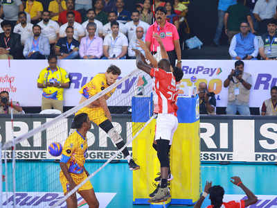 Pro Volleyball League: Calicut Heroes dominate Chennai Spartans
