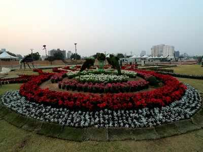 CM Vijay Rupani inaugurates Ahmedabad Flower Show 2020