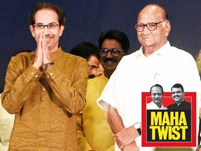 MAHA TWIST: Sharad Pawar, Uddhav Thackeray present a united front