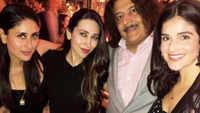 Karisma Kapoor's birthday party with Kareena Kapoor, Saif Ali Khan in London