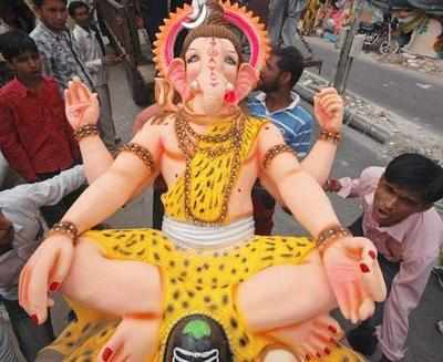 CM appeals for eco-friendly Ganeshotsav