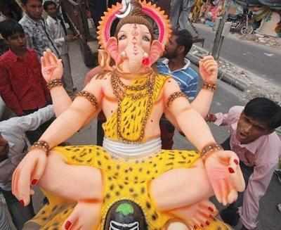 CM appeals for eco-friendly Ganeshotsav
