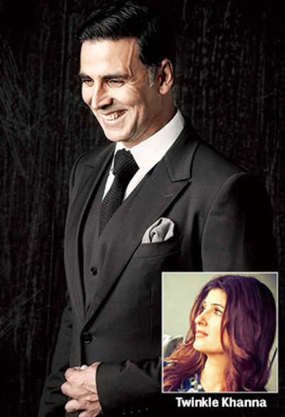 Akshay Kumar on wife Twinkle Khanna's new production house