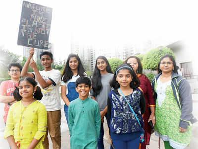 Hinjawadi society declares war on single-use plastic