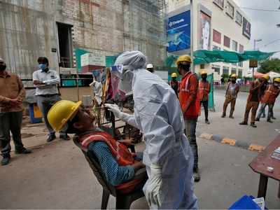 With 53,370 new COVID-19 cases, India's tally reaches 78,14,682