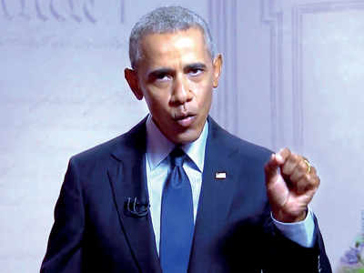 Trump treats presidency as reality show: Obama