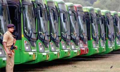 CNG buses to bring down pollution levels