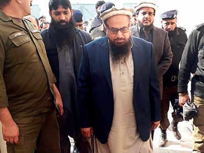 Brief relief for Hafiz Saeed
