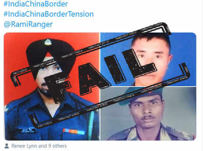 Fake alert: Soldiers killed by Pakistan shared as those martyred during Galwan faceoff with China