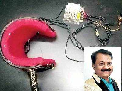Nashik health officer secures patent for 'Brain Guard' device