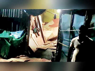 Thane: Sisters buried under stack of plywood at their father's godown