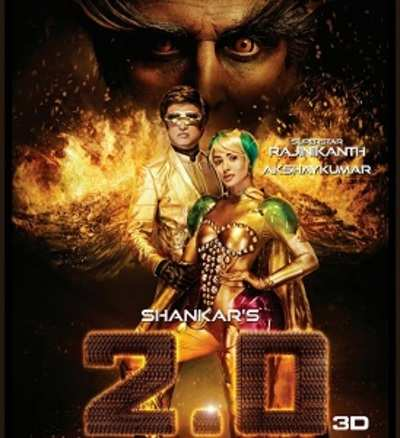 2.0 / Robot 2 is an Upcoming (2018) Indian science fiction film-Rajinikanth_Akshay Kumar_Amy Jackson