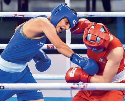 Sonia's dream run at world boxing championships continues